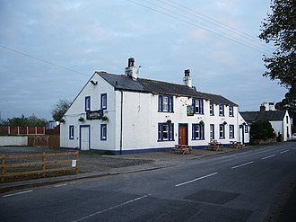 Kirkbride, Cumbria - Image: The Bush, Kirkbride geograph.org.uk 616232