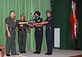 The Chief of Army Staff, General V.K. Singh presented the Annual Flight Safety Trophy for the year 2010-11 to the Reconnaissance and Observation Flight of Army Aviation Corps located at Misamari.jpg