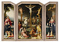The Crucifixion with Saints and Donors by Cornelis Cornelisz van Haarlem, Bass Museum of Art.jpg