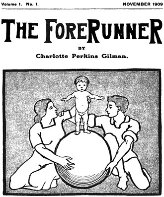 Forerunner (magazine) - The cover to the first issue