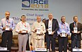 The Governor of Tamil Nadu, Shri Banwarilal Purohit releasing IRCE 2018 Show Catalogue, at the inauguration of the International Rail Coach Expo 2018, in Chennai.JPG