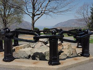 Chain - Part of The Hudson River Chain at West Point