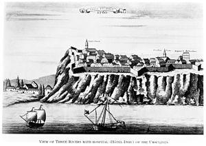 Trois-Rivières - Trois-Rivières, 1760.