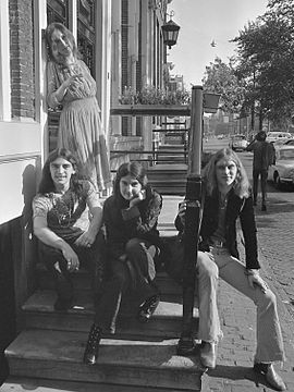 The Incredible String Band Amsterdamissa vuonna 1970.