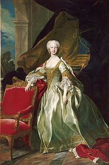 The Infanta María Teresa Rafaela of Spain, future Dauphine of France by Louis Michel Van Loo.jpg