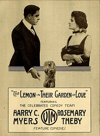 Rosemary Theby - The Lemon in Their Garden of Love (1916)