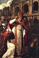 The Martyrdom of St Januarius in the Amphitheatre at Pozzuoli.jpg
