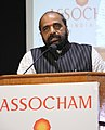 The Minister of State for Home Affairs, Shri Hansraj Gangaram Ahir addressing the inaugural session of the 6th International Conference & Exhibition on Homeland Security, in New Delhi on November 16, 2017.jpg