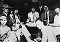 The Murphys, Pauline Pfeiffer, and the Hemingways, Spain, 1926.jpg