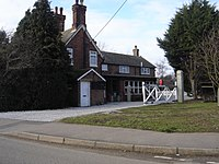 The Old Railway Station at Heacham,Norfolk. - geograph.org.uk - 1709710.jpg