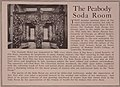 The Peabody Soda Room, opened October 1, 1915 after the state prohibition of alcohol, the Hotel Bar was transformed into the Soda Room - Books from the Library of Congress (IA womansworkintenn00tenn) (page 295 crop).jpg
