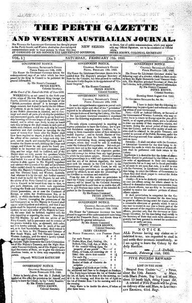 File:The Perth Gazette and Western Australian Journal 1(7).djvu