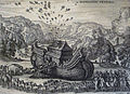 The Phillip Medhurst Picture Torah 49. Going into the Ark. Genesis cap 7 v 7. Borcht.jpg