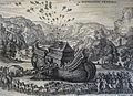 The Phillip Medhurst Picture Torah 49. Going into the Ark. Genesis cap 7 v 7. Borcht.jpg