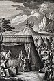 The Phillip Medhurst Picture Torah 535. Purification of women. Leviticus cap 12 vv 2-5. Harder.jpg