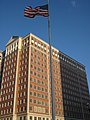 The Plaza in Clayton Office Tower and flagpole.jpg