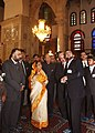 The President, Smt. Pratibha Devisingh Patil visited Umayyad Mosque, at Damascus in Syria on November 26, 2010 (1).jpg