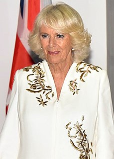 Camilla, Duchess of Cornwall Second wife of Prince Charles