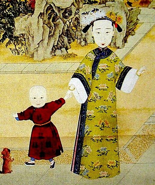 The Qing Dynasty Empress XiaoJing