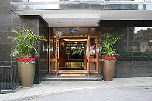 Royal Thames Yacht Club - Image: The RTYC entrance