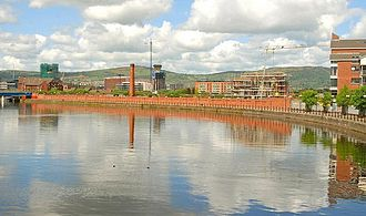 Samuel Cleland Davidson - The Sirocco Works on the River Lagan, Belfast, during demolition in 2009