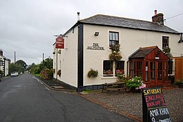 """The Salutation"" inn in High Hesket"
