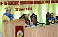 The Union Minister for Human Resource Development, Smt. Smriti Irani addressing at the 4th Convocation of the Indian Institute of Science Education & Research (IISER), Kolkata, at IISER, Mohanpur, Nadia, in West Bengal.jpg