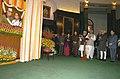 The Vice President, Mohammad Hamid Ansari, the Prime Minister, Dr. Manmohan Singh, the Speaker, Lok Sabha.jpg