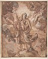 The Virgin Immaculate with the Christ Child in Glory (recto); Rinaldo and Armida (verso) MET DP810986.jpg