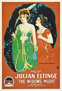 <i>The Widows Might</i> (1918 film) 1918 film by William C. deMille
