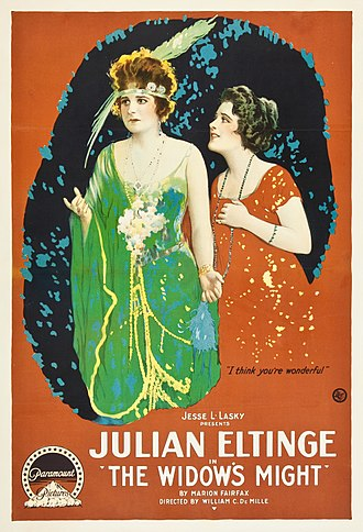 The Widow's Might (1918 film) - Theatrical release poster