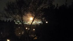 קובץ:The burning torch of the Oil refineries Haifa, as seen from Givat Nesher.webm