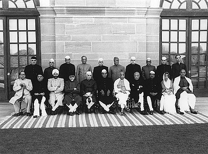 The first Cabinet of independent India.jpg