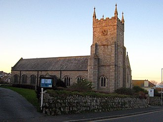 Carbis Bay - Carbis Bay parish church
