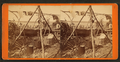The picturesque of Ste. Marie River, canoe building, by Childs, B. F..png