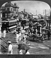 The principal thoroughfare of busy Tokyo, Japan 1905.jpg