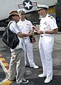 The strike group anchored off of the coast of Phuket, Thailand, for a port visit 121007-N-CJ060-005.jpg