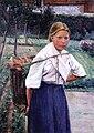 Thilén, Porkkanoita kantava tyttö.jpg