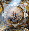 Third right chapel ceiling in Santa Maria dell'Orto (Rome).jpg