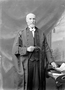 Thomas Bain Canadian politician