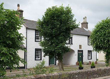 Birthplace of Thomas Carlyle, Ecclefechan Thomas Carlyle's birthplace.jpg