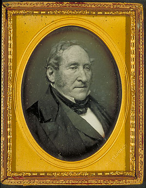 John C. Frémont - Thomas Hart Benton, U.S. Senator, Missouri, was Frémont's powerful backer in the Senate.