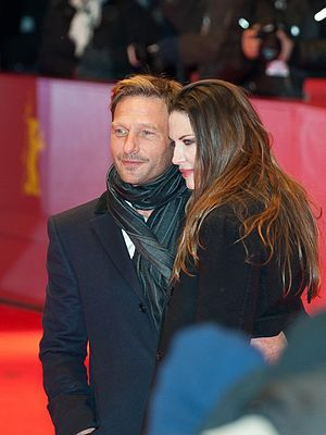 Thomas Kretschmann - Kretschmann with Brittany Rice, at the 62nd Berlin International Film Festival, on 9 February 2012