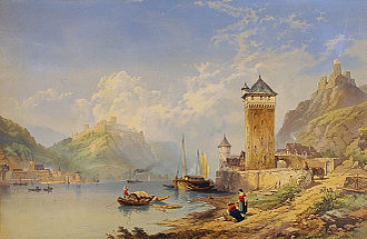 Sankt Goarshausen - Image: Thomas M Richardson St Goarshausen