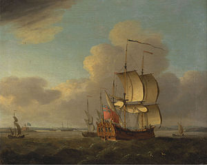 Shipping in the Thames Estuary