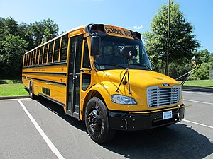 Freightliner Business Class M2 - Thomas Saf-T-Liner C2 school bus