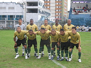 Esporte Clube Tigres do Brasil - Team photo from the 2008 season