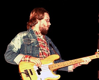 Tim Bogert - Bogert with bass guitar