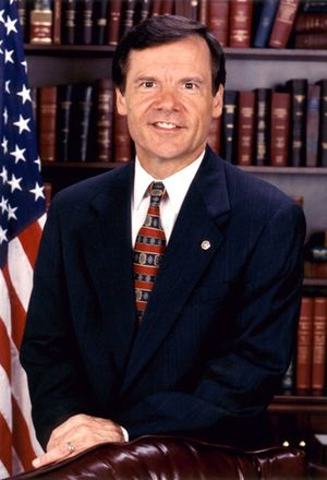 United States Senate election in Arkansas, 1996 - Image: Timothy Hutchinson, official Senate photo portrait
