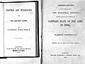 Title page; 'Sanitary State of the Army in India' Wellcome L0000031EA.jpg